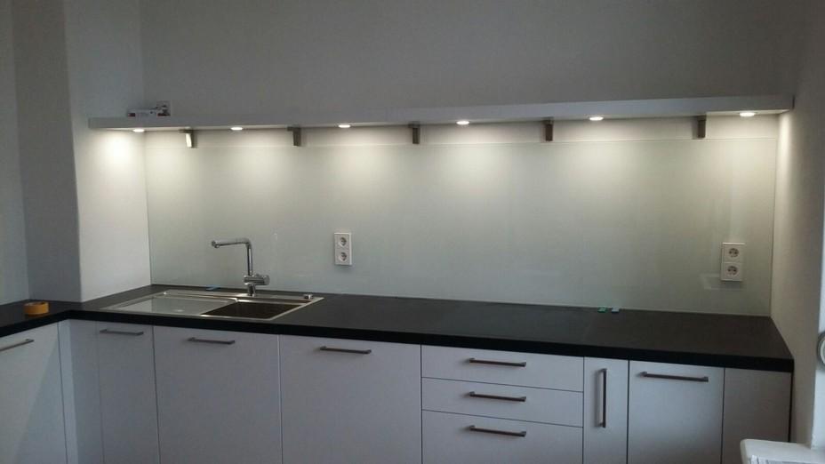 Küchenverglasung, Glas für Küche, Fliesenspiegel Wandverglasung ...